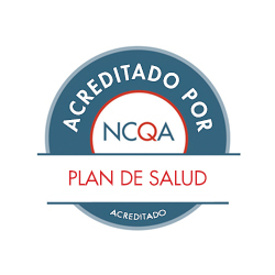 Sello de plan de salud con acreditación de NCQA