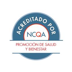 Sello depromoción del bienestar y la salud con acreditación de NCQA