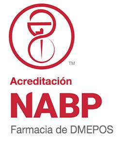 Sello de acreditación de NABP DMEPOS.